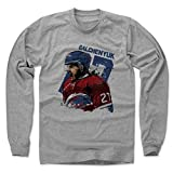 500 LEVEL's Alex Galchenyuk Long Sleeve T-Shirt XL Heather Gray - Montreal Hockey Fan Gear Officially Licensed by the NHL Players Association - Alex Galchenyuk Smash B