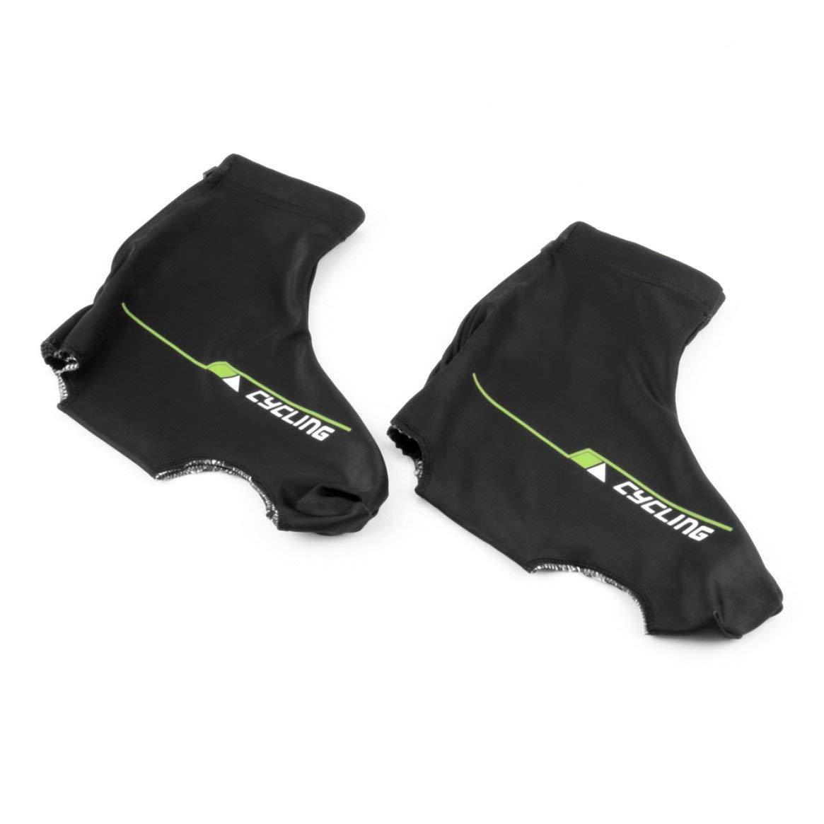 Zapatos de Ciclismo en Caliente Cubren la sobremesa Ciclismo de Bicicleta de Carreras de Calzado Cuidado Spandex Cortavientos de Ciclismo de Lycra a Prueba de Viento Marca Delicacydex