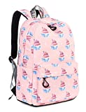 ice cream book bag - Leaper Cute Ice Cream Pattern Laptop Backpack School Bookbags College Bags Pink