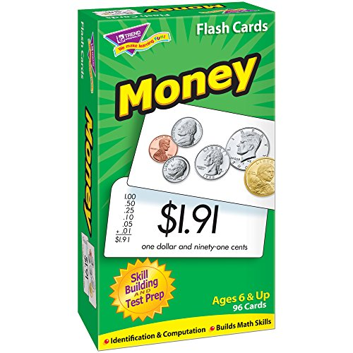 Money Skill Drill Flash Cards (Learning Cards Money)