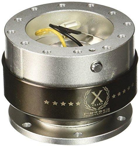 NRG Innovations SRK-200SL Quick Release (Silver Body/Titanium Chrome ()