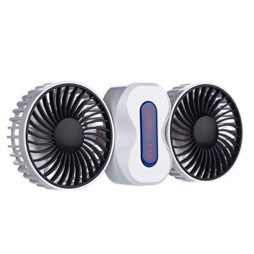 Tiannuofa Couples Mini Fan Dual Head