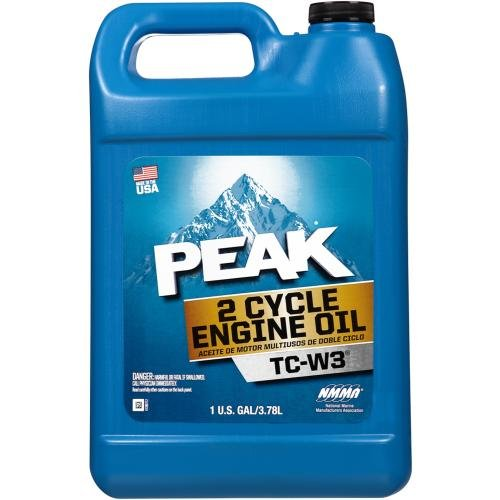 Tc W3 2 Cycle Engine (Peak 2-Cycle TC-W3 Oil 1 Gallon (PTMW34G))