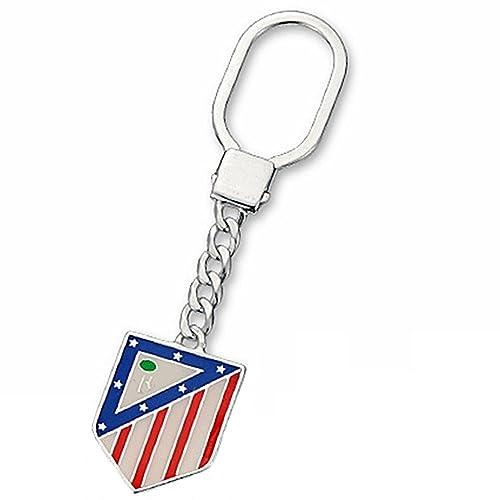 Llavero escudo Atlético de Madrid Plata de ley 24x29mm ...