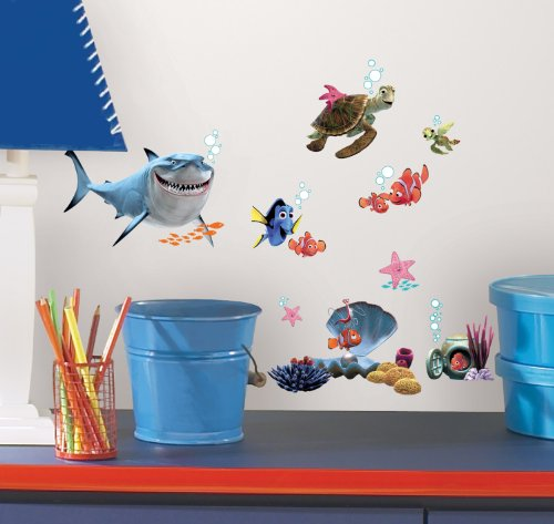 - Roommates Rmk2059Scs Finding Nemo Peel And Stick Wall Decals