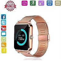 Bluetooth Hongtu Stainless Wristwatch Pedometer Noticeable