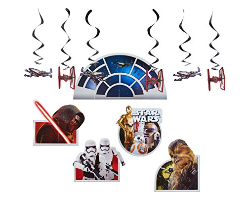 American Greetings Star Wars Episode 8 Room Transformation Kit, Multicolor -