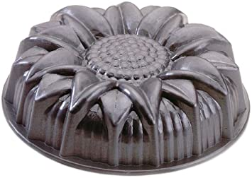Nordic Ware Platinum Cast Aluminum Sunflower Pan