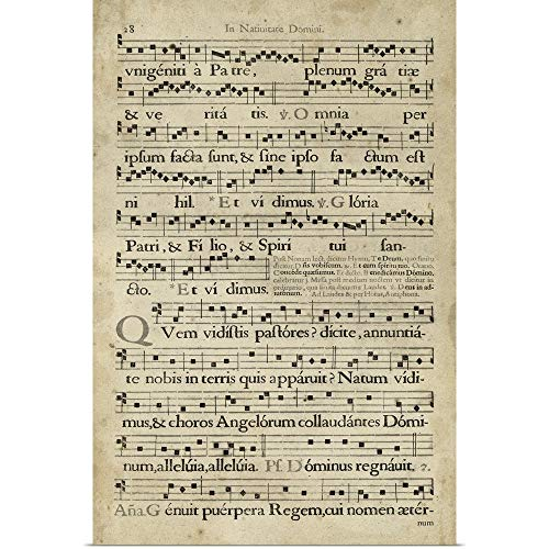 Poster Print Entitled Vellum Songbook III Great Big Canvas 2