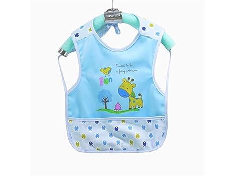 OVVO Babero para bebés Toddler Toalla para bebés Saliva Babero para niños Babero Drool Adecuado para