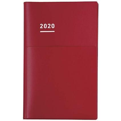 Kokuyo Jibun Techo 2020 - Agenda (tamaño A5), color rojo ...
