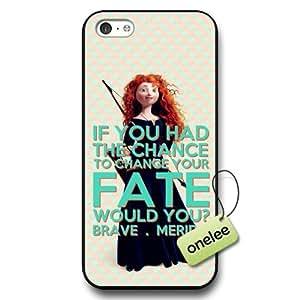 Disney Brave Princess Merida Hard Plastic Phone Case & Cover for iPhone 5c - Black