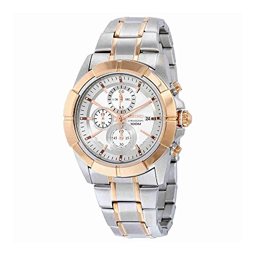 Seiko Lord Chronograph Silver Tone Watch (Seiko Analog Digital)