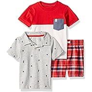 [Sponsored]Carter's Boys' Toddler 3-Piece Playwear Set