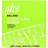 GHS Strings Classical Guitar Set (Clear Nylon, Silver Wound Strings, Ball End)