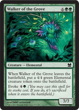 Magic: the Gathering - Walker of the Grove (173) - Modern Masters - Foil by Magic: the Gathering