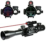 IWIN Mall Riflescope 3 in 1 Combo Optics 3-9X40EG Red Green Illuminated Military Sniper Sight Tatical Hunting Rifle Scope Holographic Reticle Dot Sight