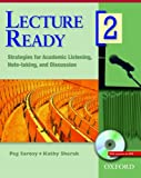 Lecture Ready 2 Student Book with DVD: Strategies for Academic Listening, Note-taking, and Discussion (Lecture Ready Series)