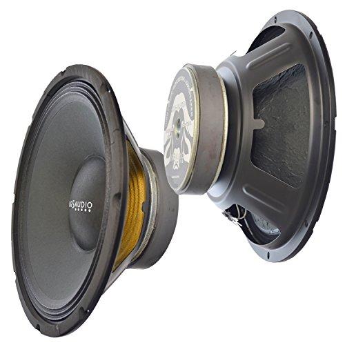 Mid Bass Loudspeaker Driver - Y-DJ Replacement Bass-Midrange Pro Audio Speaker 12