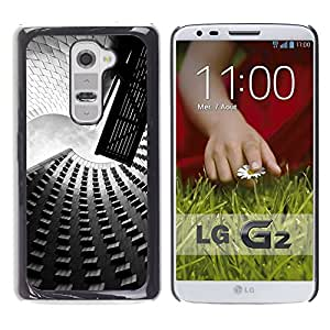 Impact Case Cover with Art Pattern Designs FOR LG G2 Architecture Street & Buildings Betty shop