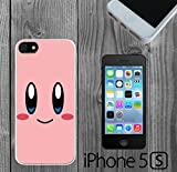 kirby iphone 5s case - Cartoon Girl Cute Kirby LOL Custom made Case/Cover/Skin FOR iPhone 5/5s -White- Rubber Case (Ship From CA)
