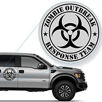 Amazoncom Zombie Outbreak Response Team Sticker Decal Notebook - Decals and stickers for cars