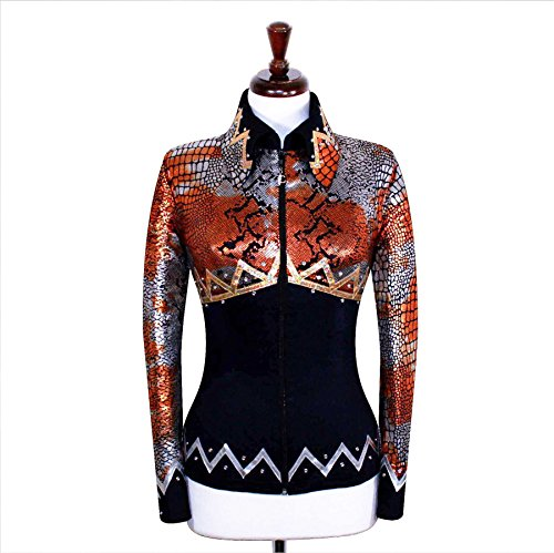 Western Pleasure Show Shirts - X-Small Rodeo Western Showmanship Show Jacket Horsemanship Pleasure Rail Outfit [34]