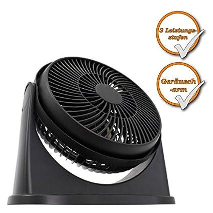 Diseño de Turbo Ventilador, silencioso Espacio compacto ventilador para ventilación indirecta, Negro