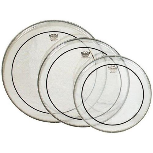 Remo Pinstripe Clear Drumhead Pack - Remo Clear Pinstripe Head