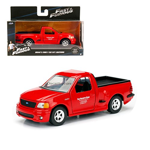 Svt Ford F150 Collectibles (Fast & Furious Collectors Series Brian's Ford F-150 SVT Lightning Jada 1:32 Diecast Truck)