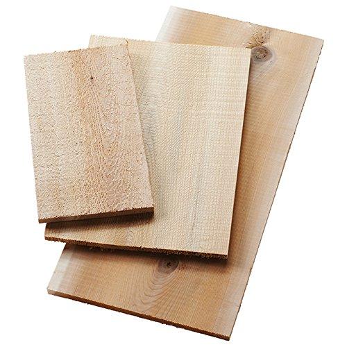 American Metalcraft CWP8 Cedar Planks, Wood, 8'' Length, 5-1/2'' Width, 1/4'' Height, One Dozen
