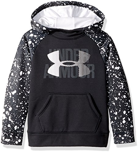 Under Armour Girl Fleece Novelty Big Logo Hoodie