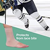 ZenToes Padded Skate Socks for Lace Bite Protection