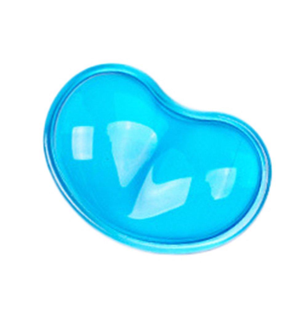 Leisial Handgelenkauflagen Silikon Herzf/örmig Handgelenkauflagen Rutschfest Blau 11*7cm