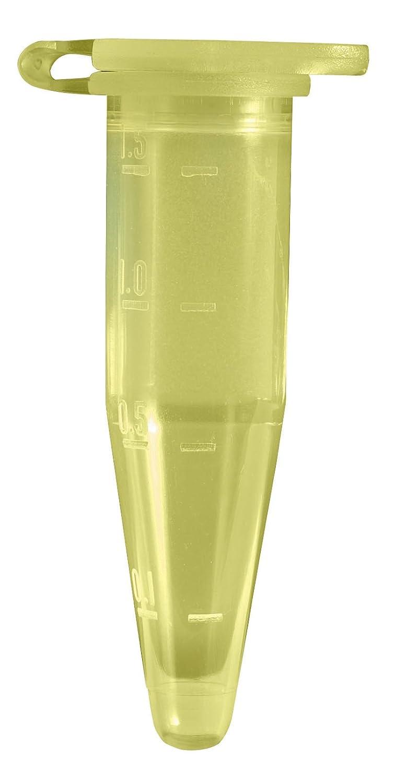 Confezione da 500 pezzi Camlab Plastica colore: ambra 1,5 mL RTP//77120-A Microtube conico