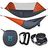 Ridge Outdoor Gear Camping Hammock with Mosquito Net - 2019 Upgraded - Ultralight Hammock Tent...
