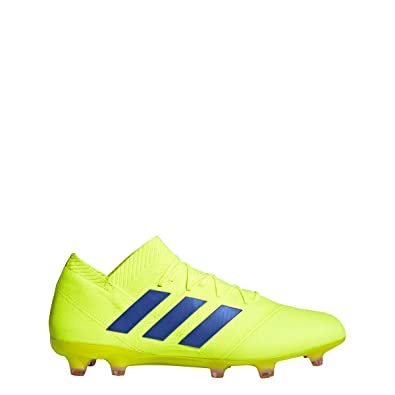 500bfbe52964 adidas Nemeziz 18.1 FG Cleat - Men's Soccer Solar Yellow/Football Blue/Red