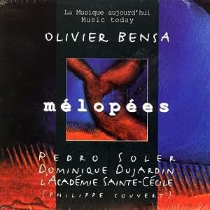 Olivier bensa pedro soler dominique dujardin melopees for Dujardin olivier