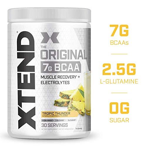XTEND Original BCAA Powder Tropic Thunder | Sugar Free Post ...