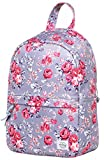 OLETHA Small Purse Backpack Mini Daypack Cute for Women, Pink Rose