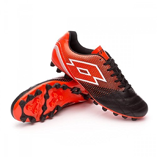 Bota de fútbol Lotto Spider 700 XIII HG28 Black-Red Black-Red