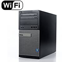 Dell Gaming 990 Desktop Computer Optiplex, Intel Core i7 3.4 upto 3.8GHz 2600 CPU, NEW 1TB Solid State Hybrid, 8GB DDR3 Memory, WiFi, Windows 10 Pro, Nvidia GT710 2GB (Renewed)