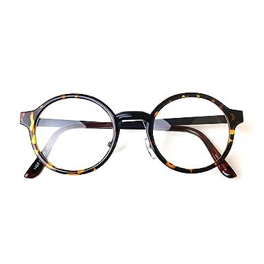 1920s Vintage Oliver rétro lunettes rondes 7381 Brown cadres Classic Eyewear p7Saj3Ia