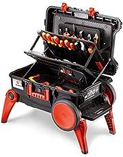 Wiha Gereedschapskoffer set XXL III electric (44128), 100-delig I trolley met uitklapbare poten