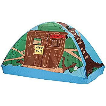Pacific Play Tents Kids Tree House Bed Tent Playhouse - Twin Size  sc 1 st  Amazon.com & Amazon.com: Playhut Mickey Mouse Club House Bed Tent Playhouse ...