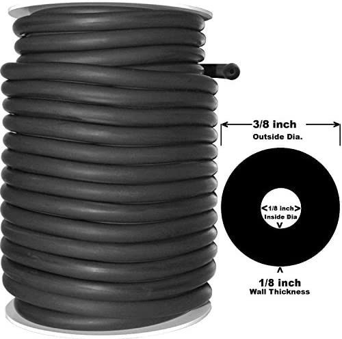 """2 FEET 1//8/"""" I.D x 1//32/"""" wall x 3//16/"""" OD Surgical Latex Rubber Tubing amber"""