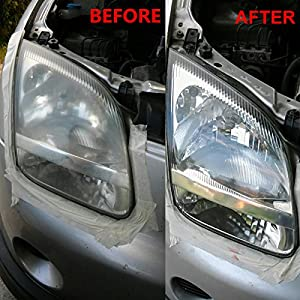 TSL Car Electronics Headlamp Brightener Kit DIY headlight restoration for car head lamp lenses Deep Clean head light Polish paste best one