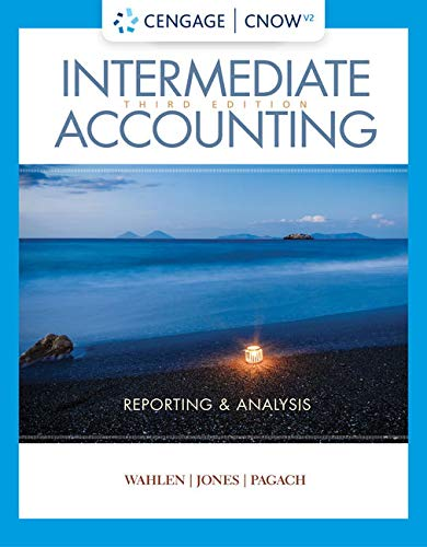 CengageNOWv2 for Wahlen/Jones/Pagach's Intermediate Accounting: Reporting and Analysis, 3rd Edition [Online Code]