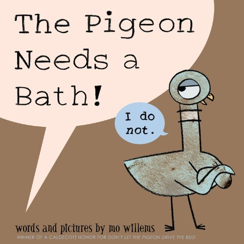 The Pigeon Needs a (Big Red Bath)