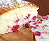 White Chocolate Raspberry bread Homemade Gourmet handcrafted Bread Holiday Gift great gift for Mom or Dad